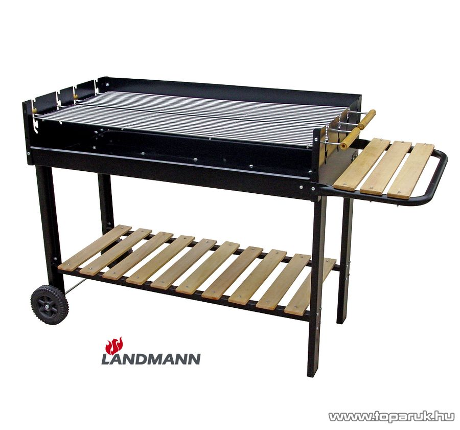 Landmann 11475 faszenes party grillkocsi (14 személyes) - készlethiány