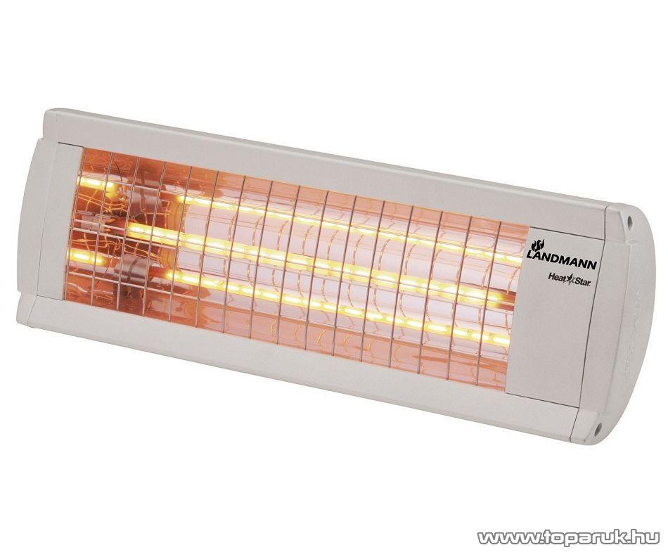 Landmann 12029 Heat Star Infra Teraszhősugárzó (hatótávolság kb. 12 m2)