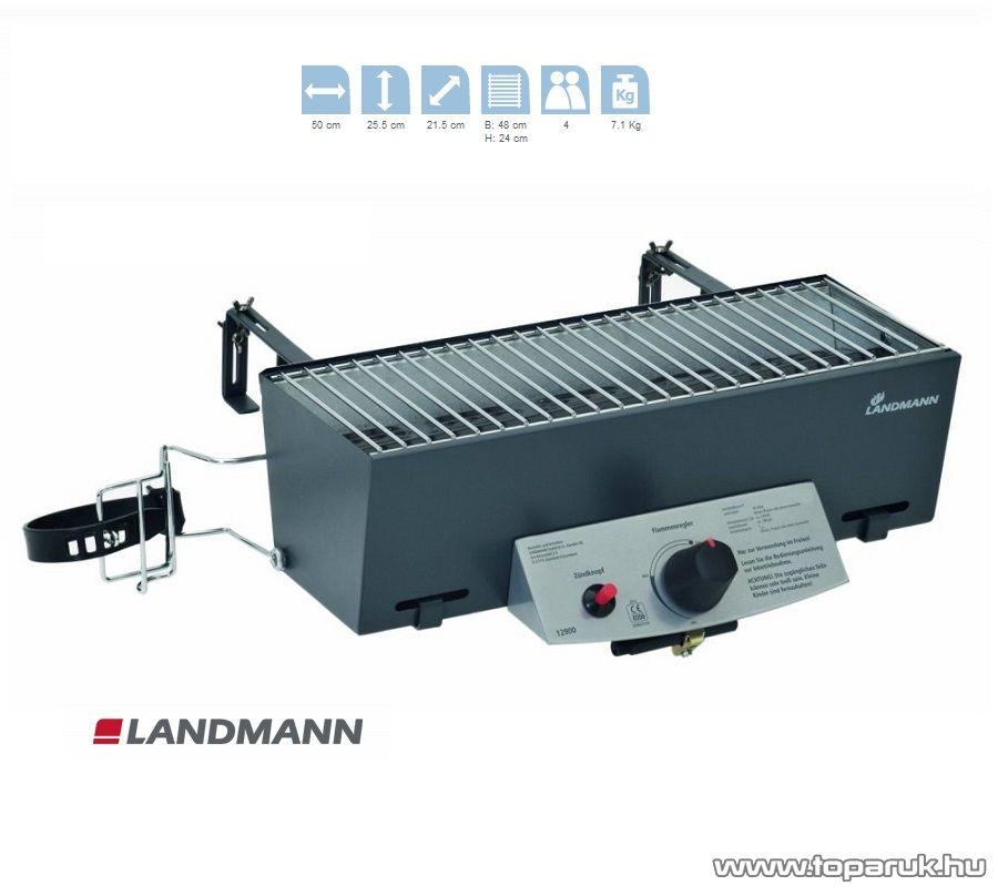 Landmann 12900 Gáz balkongrill (4 személyes)