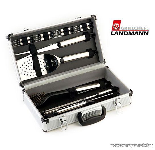 Landmann 13379 Party grillkészlet alukofferban, 16 darabos - készlethiány