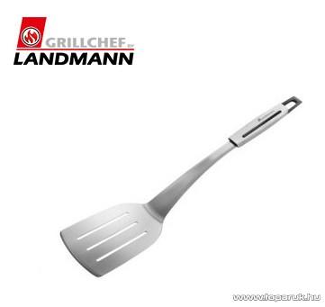 Landmann 13452 INOX SELECTION Időtálló rozsdamentes acél kivitelű húsforgató grill lapát