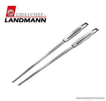 Landmann 13454 INOX SELECTION Időtálló rozsdamentes acél kivitelű saslikpálca, 2 db / csomag - készlethiány