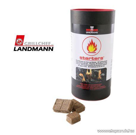 Landmann 13806 Grillgyújtó chips gyújtókockák, 96 db / csomag