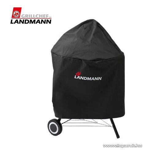 Landmann 14335 PREMIUM Black Pearl grillhuzat, grillkocsi védőtakaró, 66 x 55 cm