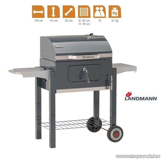 Landmann 31400 DORADO faszenes party grillkocsi (10 személyes) - készlethiány