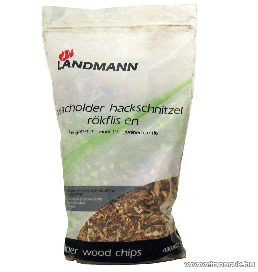 Landmann 0802002 füstölő faforgács chips (boróka), 2 liter