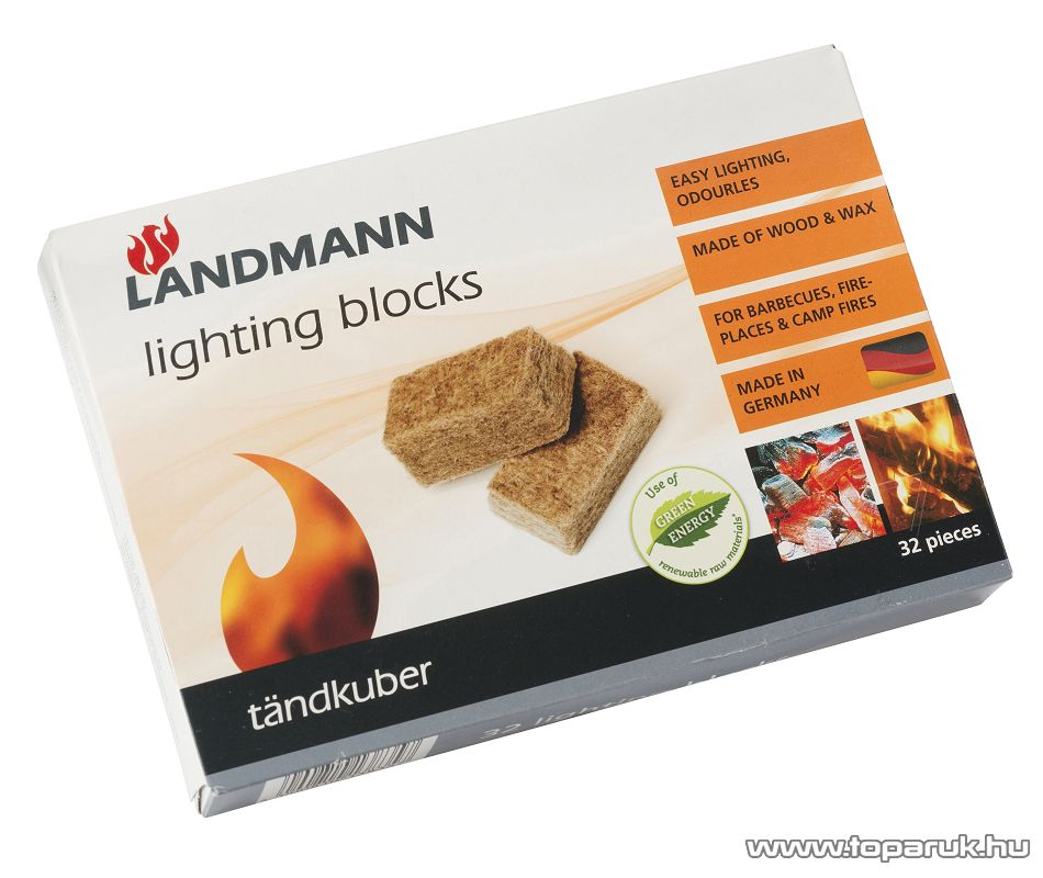 Landmann 13835 Grill gyújtókockák, 32 db-os szett