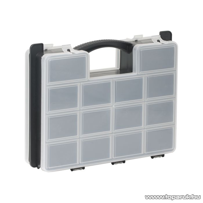 NOU Kétoldalas rendszerező doboz, 290 x 230 x 70 mm (10966) - készlethiány