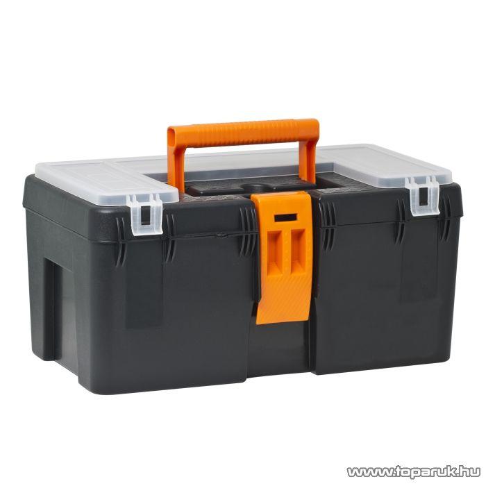 NOU Műanyag szerszámtartó láda, 400 x 230 x 200 mm (10922)