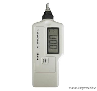 HOLDPEAK 63A Digitális rezgésmérő mérőműszer + hord táska, piezzo elektromos kerámia érzékelő funkcióval, 10Hz-15kHz