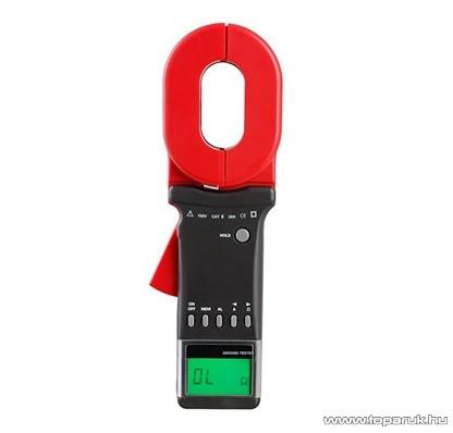 HOLDPEAK 8000A Digitális földelési ellenállás mérő lakatfogó mérőműszer, 0.01-1000ohm, ADC 0-20A