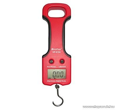 HOLDPEAK 815A Digitális kézi mérleg, 0-25kg-ig, kijelzés KG/LB mértékegységekben