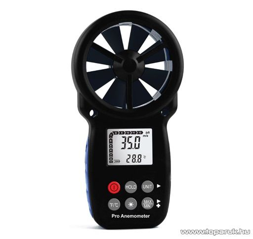 HOLDPEAK 866B Digitális szélerősség és hőmérsékletmérő mérőműszer, Beaufort skála