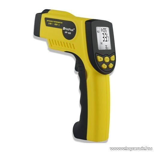 HOLDPEAK 920 Infravörös hőmérsékletmérő mérőműszer, LCD kijelzővel