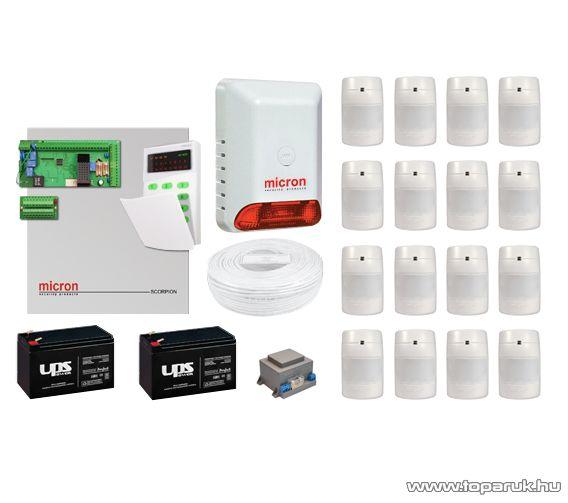 Micron Z16040C+LED Komplett vezetékes riasztórendszer