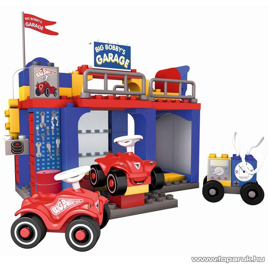 BIG Bobby garázsa építőkocka készlet (800057054)