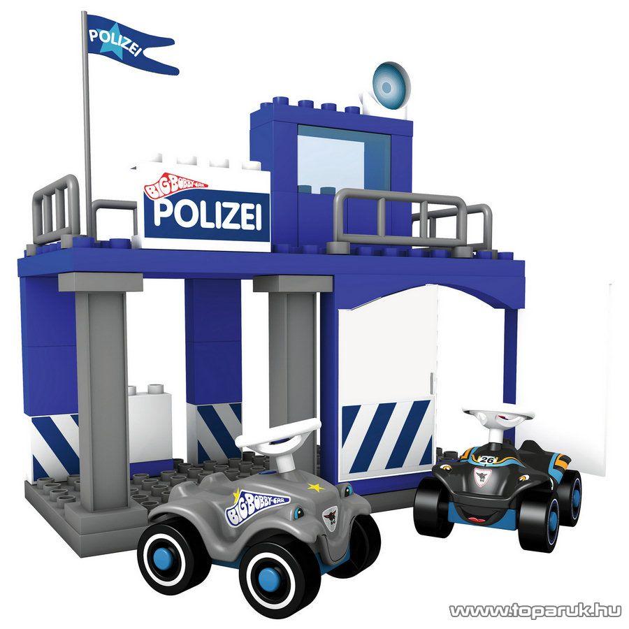 BIG Rendőrállomás építőkocka készlet (800057053)
