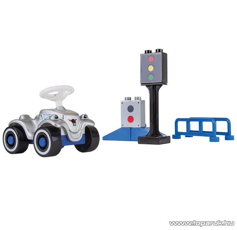 BIG Építőkocka készlet rendőrségi autóval (800057051)