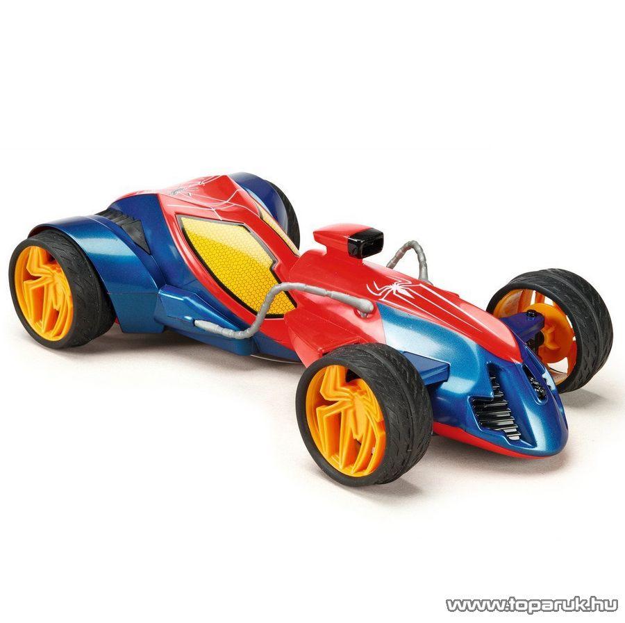 Majorette Spider-Man, Pókember RC Web Twister távirányítós autó, 1:12 (213089745)
