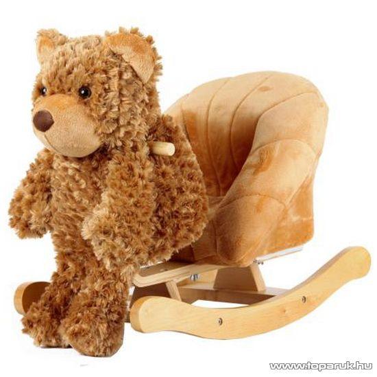 Beleülős, plüss mackós hintás gyermek fotel (JR2507)