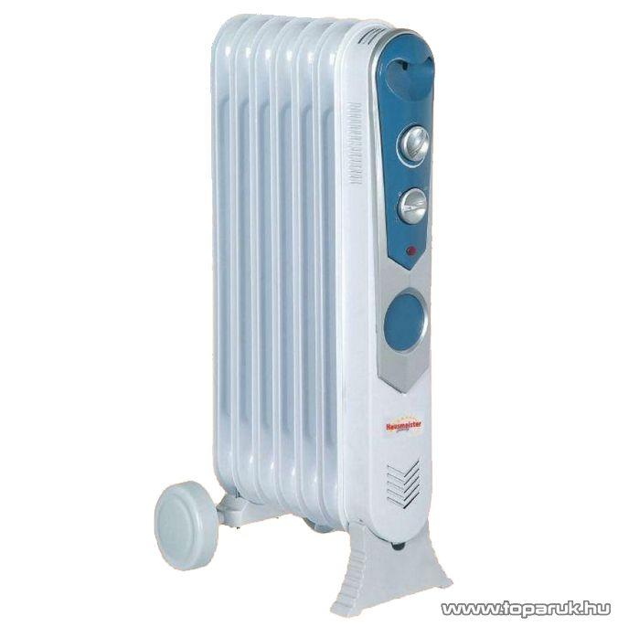 Hausmeister HM 8819A 9 tagú olajradiátor termosztáttal, 2000 W - készlethiány