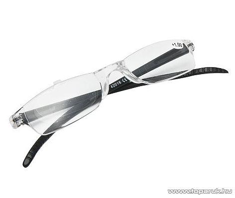 Olvasószemüveg + tok, 1 dioptria, fekete (57041BK) - megszűnt termék: 2016. január