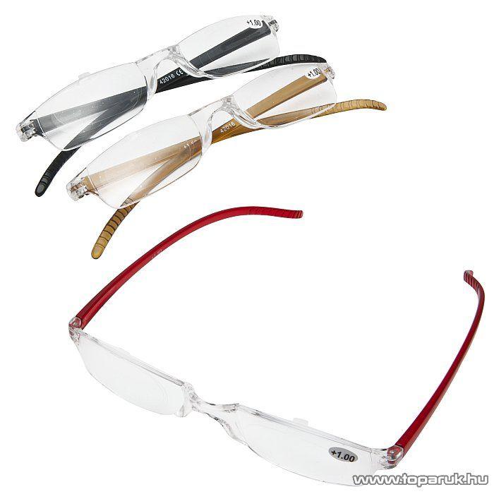 Olvasószemüveg + tok, barna, 2.0 dioptria (57043) - megszűnt termék: 2014. szeptember