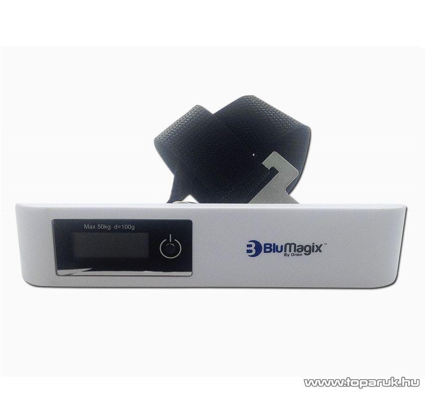 BluMagix BM-LSC115 Öves csomag mérleg, kézi poggyászmérleg (max. 50kg súlyig)
