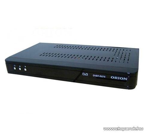 Orion DVBT R675 SET-TOP-BOX Conax kártyaolvasós DVB-T vevő készülék, dekóder - készlethiány