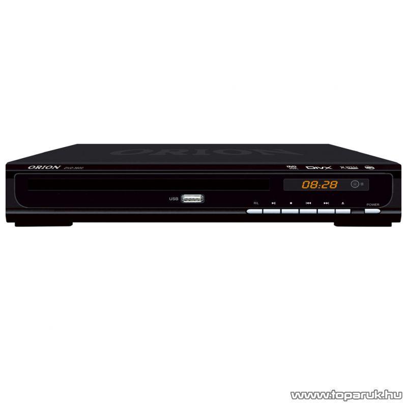 Orion DVD 3600 Régiófüggetlen (régiókód független) asztali DivX/Avi/MPEG/MP3 DVD lejátszó USB porttal - Megszűnt termék: 2015. December