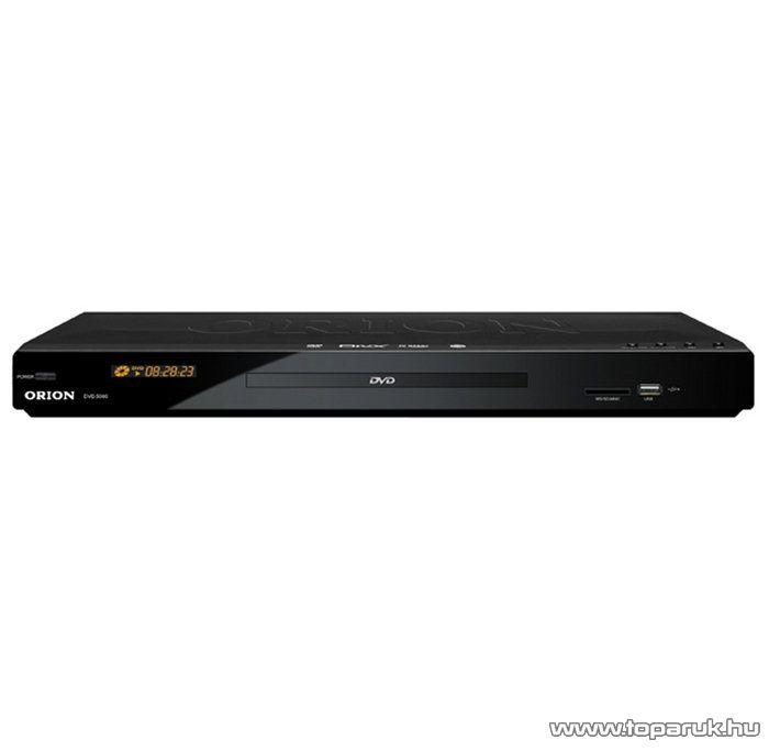 Orion DVD 5000 Régiófüggetlen (régiókód független) asztali DivX/Avi/MPEG/MP3 DVD lejátszó - készlethiány