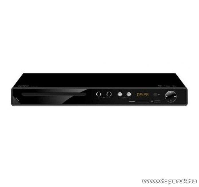 Orion DVD 5100 Régiófüggetlen (régiókód független) Karaoke asztali DivX/Avi/MPEG/MP3 DVD lejátszó - készlethiány