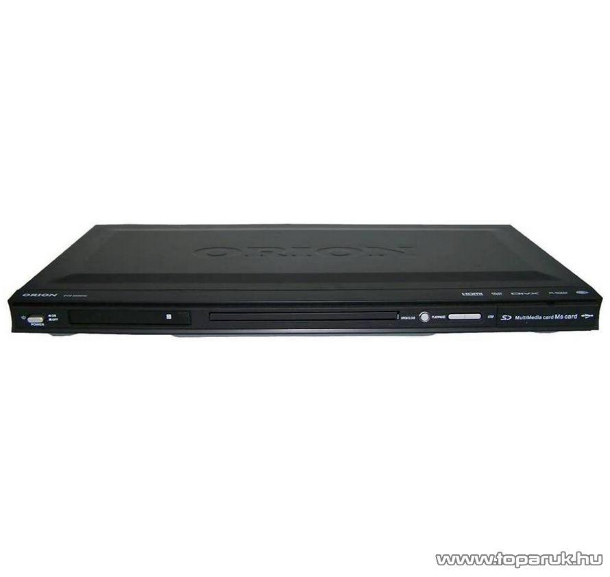 Orion DVD 5400 Régiófüggetlen (régiókód független) asztali DivX/Avi/MPEG/MP3 DVD lejátszó - készlethiány