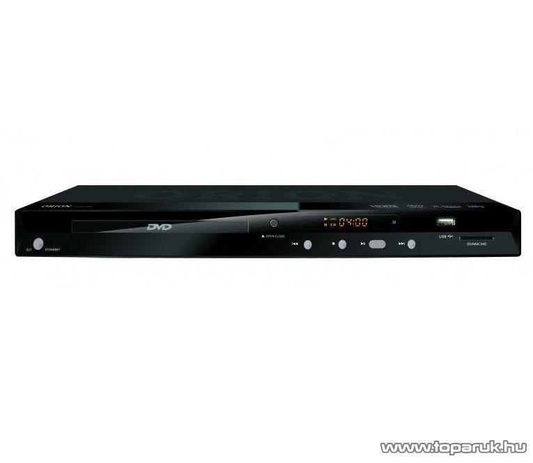 Orion DVD 5600 Régiófüggetlen (régiókód független) asztali DivX/Avi/MPEG/MP3 DVD lejátszó HDMI kimenettel - készlethiány