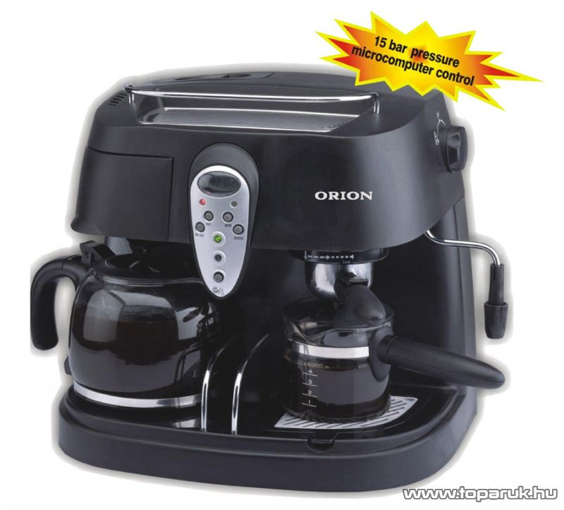 Orion OCCM-4663 Kombinált presszó kávéfőző - Megszűnt termék: 2015. Szeptember