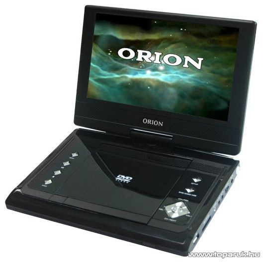 """Orion OPDTV-900 9"""" (23 cm) hordozható DVD lejátszó - készlethiány"""