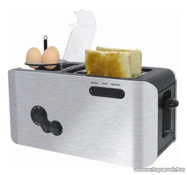Orion OTE-268 Inox kenyérpirító és tojásfőző egyben