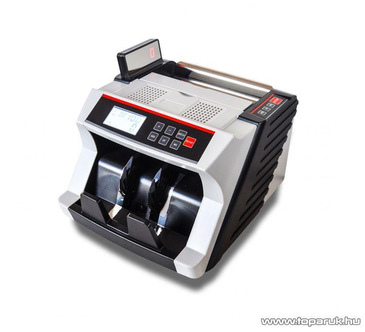 MC24 3500 Bankjegyszámláló, pénzszámláló gép (UV, MG, IR bankjegyvizsgálat), fehér/fekete