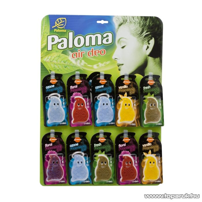 Paloma P09600 Pantom Gel illatosító szett, 30 db / csomag - készlethiány
