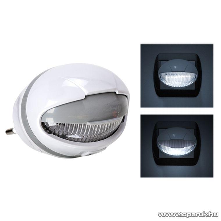 Phenom LED-es irányfény fényérzékelővel, kapcsolóval, 4 LED, 3W, hidegfehér (20264) - megszűnt termék: 2015. április