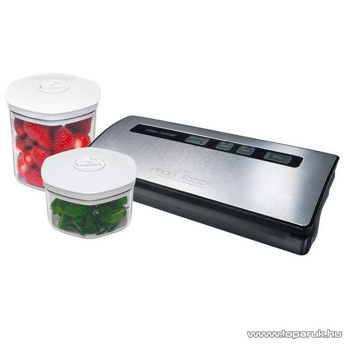 ProfiCook PC-VK1015 DS Professzionális vákuum csomagoló, fóliahegesztő készlet - Megszűnt termék: 2015. November