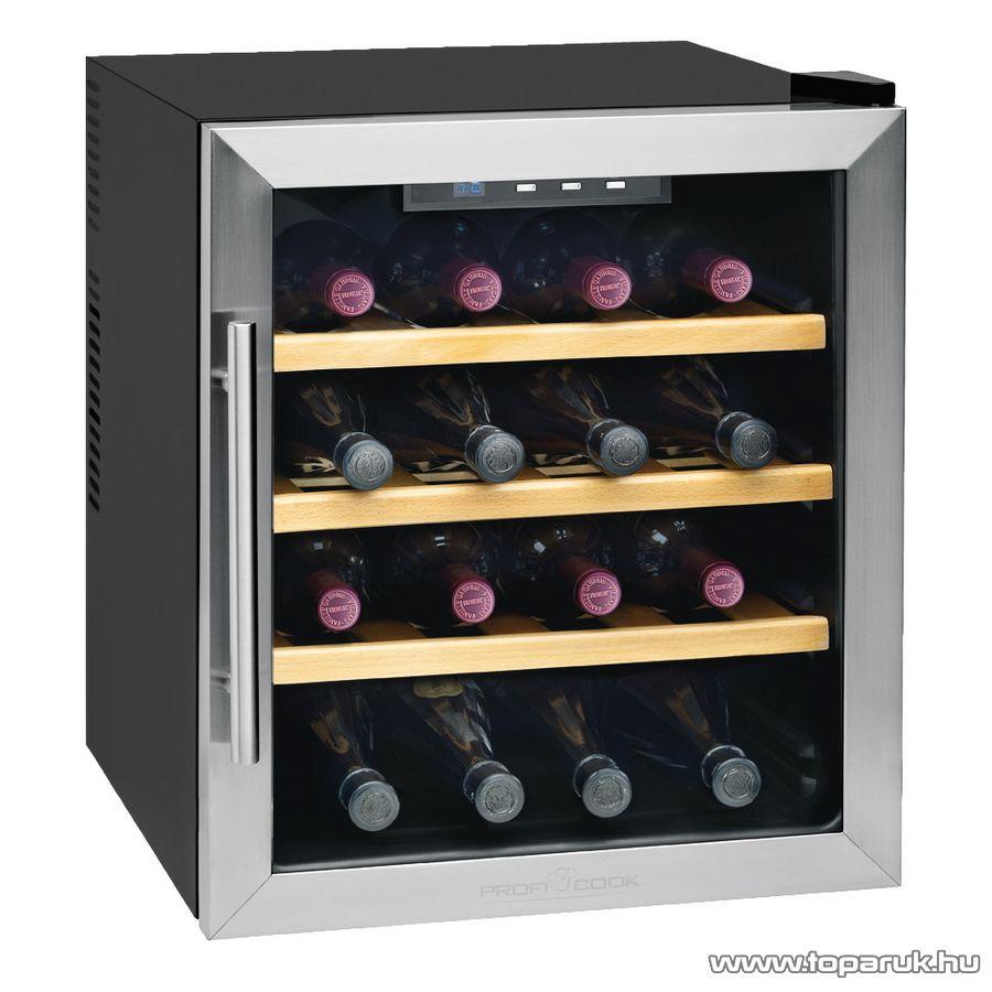 ProfiCook PC-WC1047 16 palackos borhűtő - Megszűnt termék: 2015. November