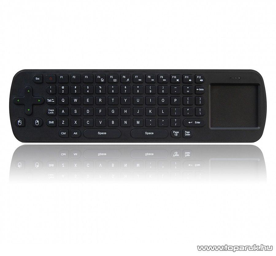 MEASY RC12 Air Mouse Egér, billentyűzet, távirányító és touchpad egyben a Measy U4A+ HDMI Android Mini PC TV (okosító) stick-hez - megszűnt termék: 2015. szeptember