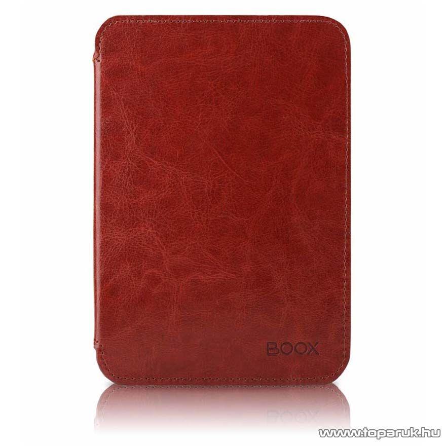 Onyx Boox C67ML Carta eBook olvasó mágneses bőrtok, barna - megszűnt termék: 2017. január