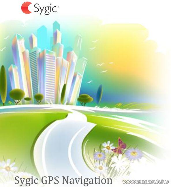 Sygic GPS Navigation 3D teljes Európa térképszoftver PNA készülékekre, 8 GB-os memóriakártyán - készlethiány