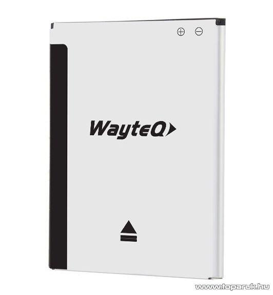 WayteQ TALK 5H okostelefon tartozék gyári akkumulátor, 2500 mAh, 3.7V - készlethiány