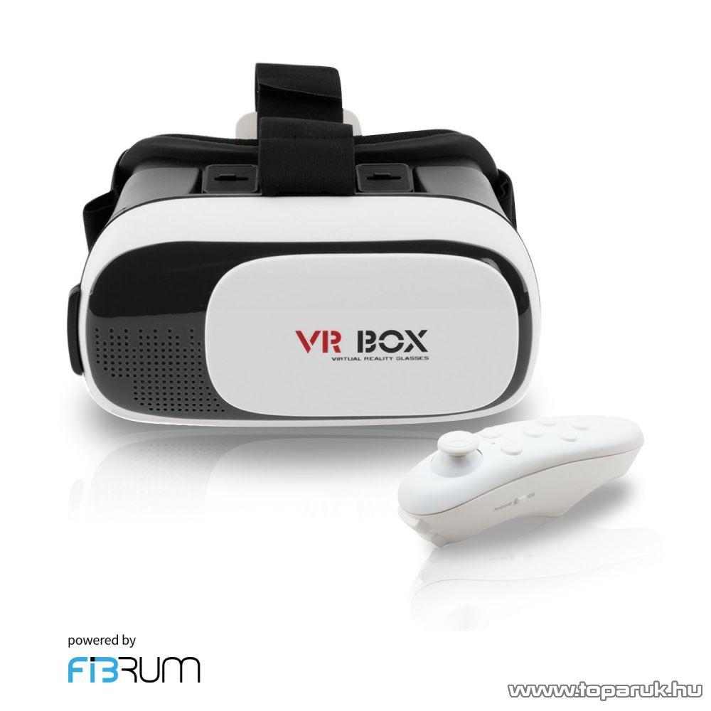 WayteQ VR BOX 2.0 + Fibrum virtuális valóság szemüveg okostelefonokhoz