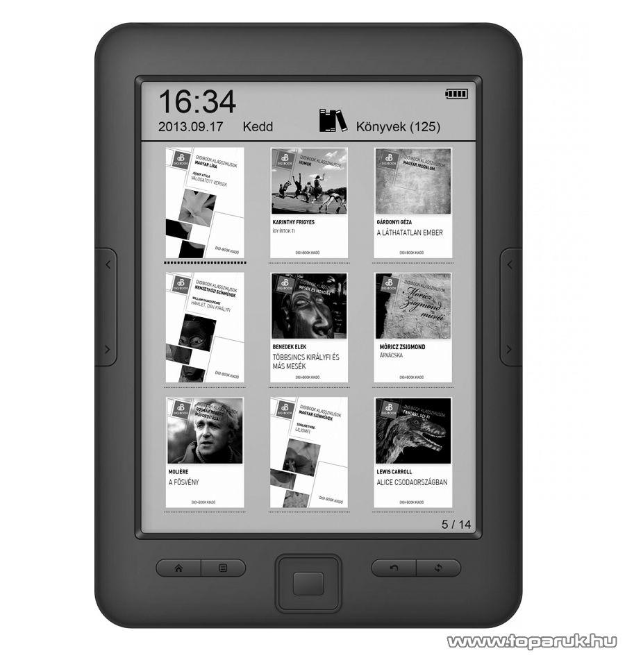 WayteQ Digi-Book xBook-60 HD E-Könyv (e-book) olvasó - megszűnt termék: 2015. július