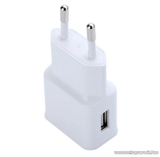 WayteQ Gyári USB hálózati töltő WayteQ xTAB-7X / xTAB-7X Quad / xTAB-7Q és xTAB-8Q táblagéphez, 5V / 1000 mA kapacitás, fehér - készlethiány