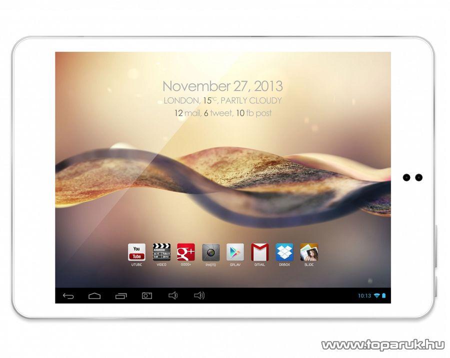 """WayteQ xTAB-79qci 7,9""""-os tablet, 8GB, fehér (Android) - megszűnt termék: 2015. január"""